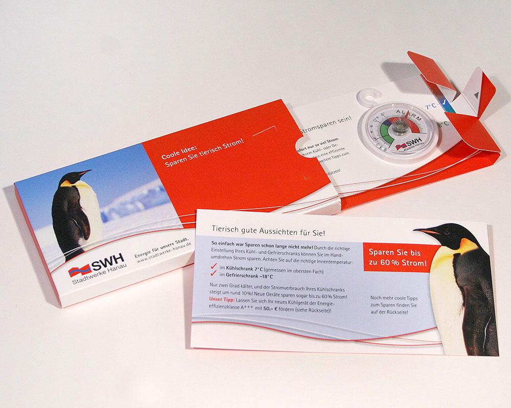Direct Mailing für einen Energiedienstleister