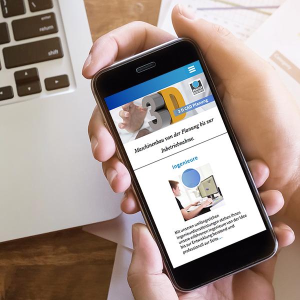 iPhon responsives Webdesign