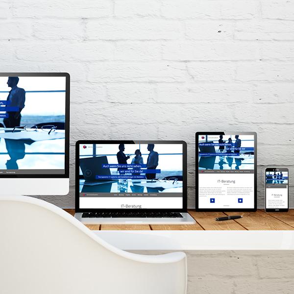 Websitedesign für mh-Computersysteme