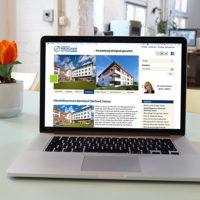 Website für eine Reihe von Seniorenpflegeheimen der Martin Luther Stiftung