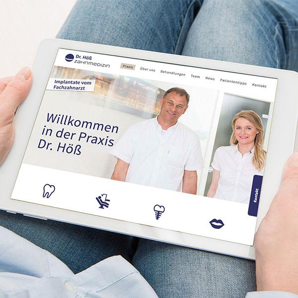 Willkommen in der Zahnarztpraxis Dr. Höß