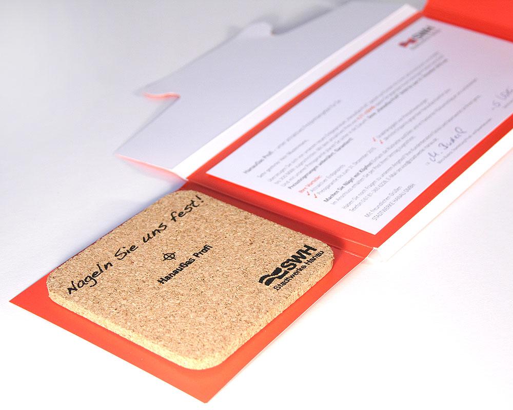 Direct Mailing für Stadtwerke Hanau