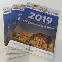 Programmbroschüre der Congress-Park-Sinfonie