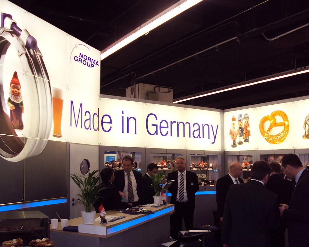 Ausstellungsdesign Industrieunternehmen