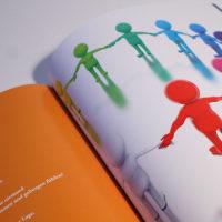 Werbebroschüre zum Thema Inklusion