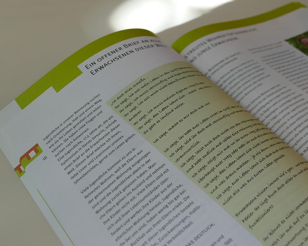 Lichtblick eine Stiftung, die im Pädagogischen Bereich Menschen betreut