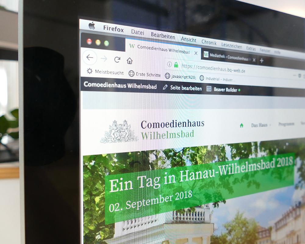 Comoedienhaus Wilhelmsbad - Branding für ein historisches Scheunentheater