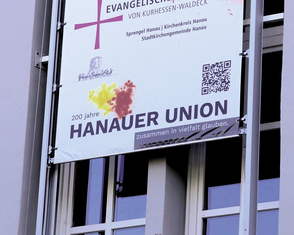 Logogestaltung für die Hanauer Union