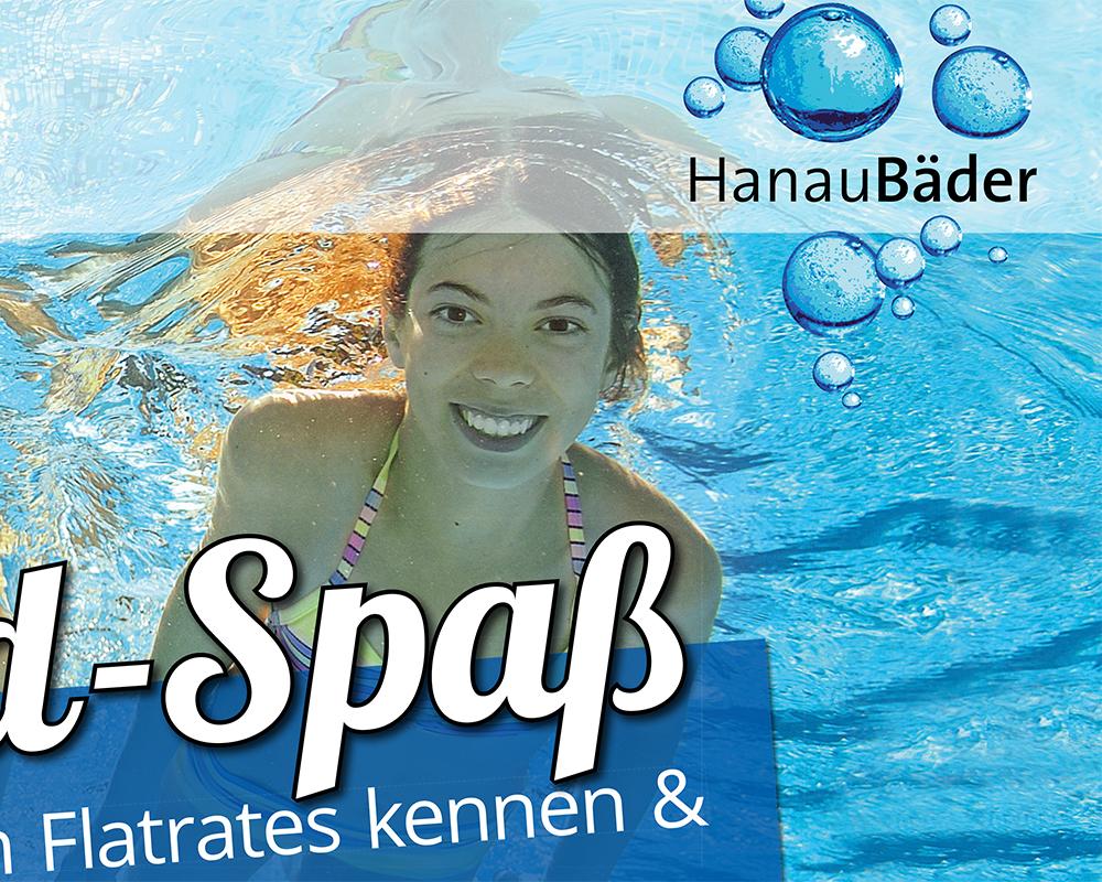 Markenentwicklung, Markenbranding für ein Schwimmbad im Rhein-Main-Gebiet